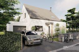 Maison+Terrain de 5 pièces avec 4 chambres à Guipavas 29490 – 311315 € - KNI-21-10-26-2