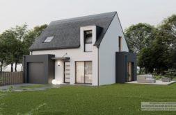 Maison+Terrain de 4 pièces avec 3 chambres à Guipavas 29490 – 261938 € - KNI-21-10-26-1