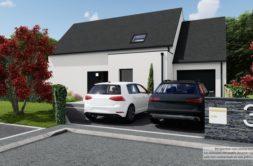 Maison+Terrain de 5 pièces avec 4 chambres à Guipavas 29490 – 396655 € - KNI-21-10-26-3