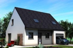 Maison+Terrain de 6 pièces avec 4 chambres à Herbignac 44410 – 165776 €