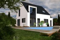 Maison+Terrain de 6 pièces avec 4 chambres à Herbignac 44410 – 169000 €