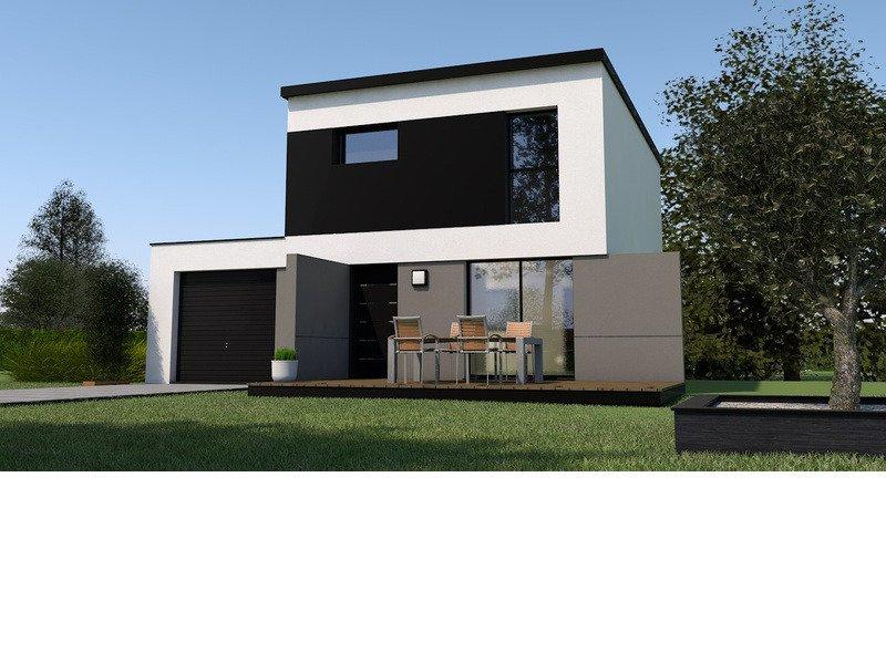 Maison+Terrain de 4 pièces avec 3 chambres à Pipriac 35550 – 166900 € - MDU-18-06-12-40