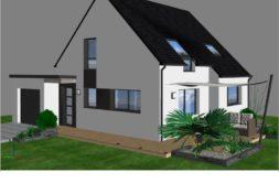 Maison+Terrain de 4 pièces avec 3 chambres à Locoal Mendon 56550 – 216438 € - JMM-19-10-02-1