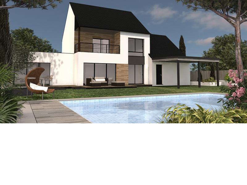 Maison+Terrain de 7 pièces avec 3 chambres à Léhon 22100 – 360380 €