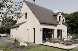 Maison+Terrain de 5 pièces avec 4 chambres à Bonnemain 35270 – 266168 € - SMAR-21-03-25-5