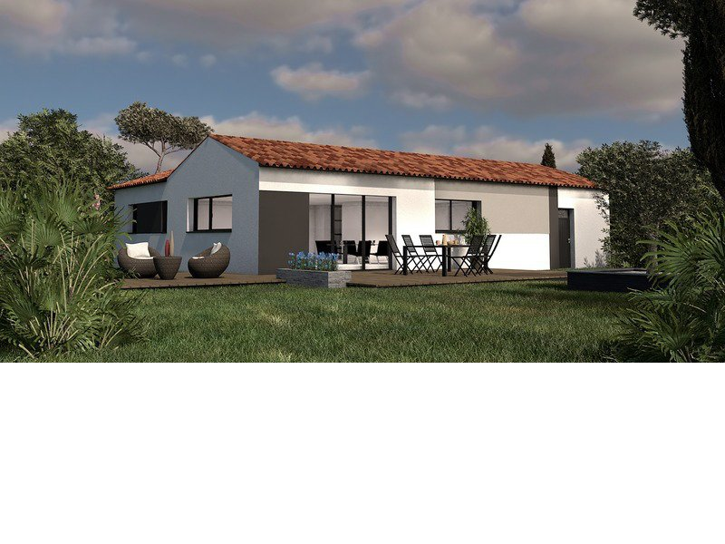 Maison+Terrain de 4 pièces avec 4 chambres à Saint Brevin les Pins 44250 – 297764 € - PLOG-19-02-21-24