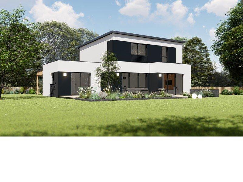 Maison+Terrain de 6 pièces avec 4 chambres à Saint Vougay 29440 – 204823 € - BHO-20-07-28-4