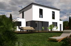 Maison+Terrain de 6 pièces avec 4 chambres à Guipavas 29490 – 224000 €