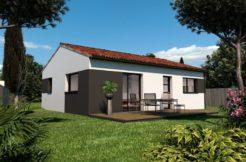 Maison+Terrain de 3 pièces avec 2 chambres à Saint Brevin les Pins 44250 – 267390 € - PLOG-18-11-29-89