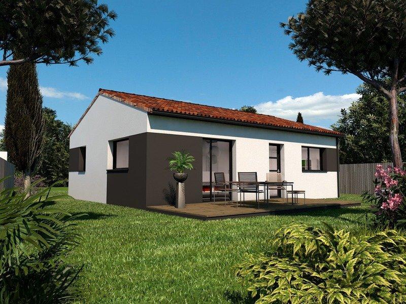 Maison+Terrain de 3 pièces avec 2 chambres à Arthon en Retz 44320 – 160690 € - PLOG-18-08-07-25