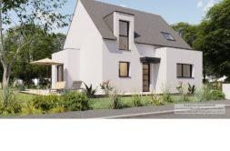Maison+Terrain de 5 pièces avec 4 chambres à Ergué Gabéric 29500 – 213452 € - KA-20-10-09-15