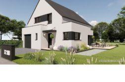 Maison+Terrain de 5 pièces avec 4 chambres à Ercé près Liffré 35340 – 245846 € - RHAM-19-07-26-86