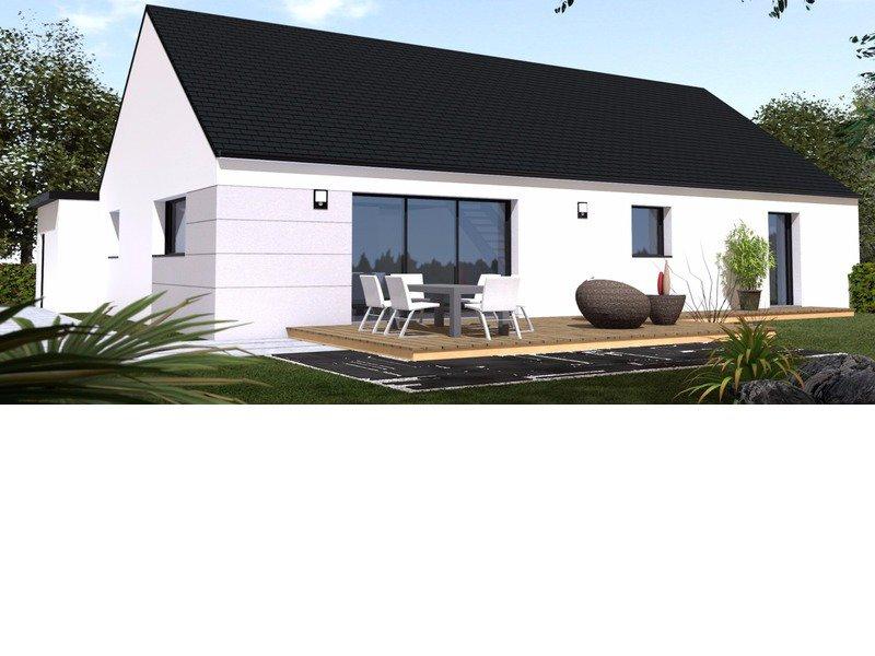 Maison+Terrain de 6 pièces avec 4 chambres à Bouvron 44130 – 188180 € - GLA-18-07-17-70