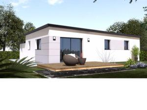 Maison+Terrain de 4 pièces avec 3 chambres à Sautron 44880 – 246863 €