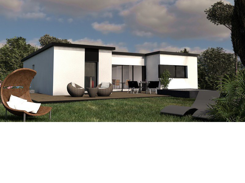 Maison+Terrain de 5 pièces avec 3 chambres à Plouaret 22420 – 133714 €