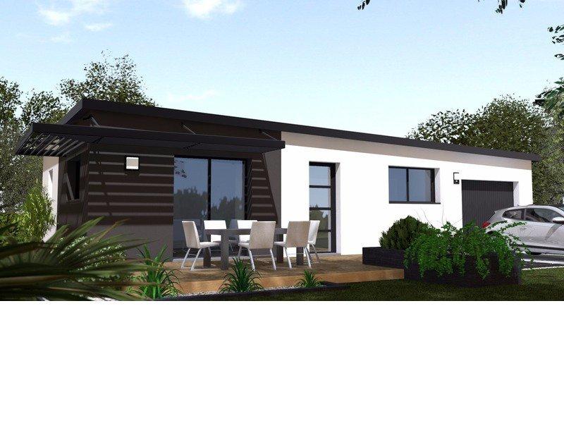 Maison+Terrain de 3 pièces avec 2 chambres à Guenrouet 44530 – 146199 €