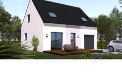 Maison+Terrain de 5 pièces avec 3 chambres à Saint Lyphard 44410 – 156026 €