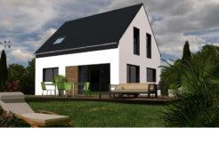 Maison+Terrain de 5 pièces avec 3 chambres à Herbignac 44410 – 179000 € - GLA-18-09-03-55