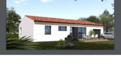 Maison+Terrain de 4 pièces avec 3 chambres à Jarne 17220 – 234000 €